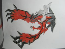 Yveltal: 6th generation Y legendary by Jackalope576