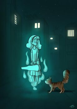 Ghost Encounters by solray-chan