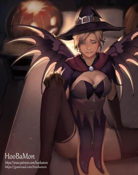 Witch Mercy by Hoobamon