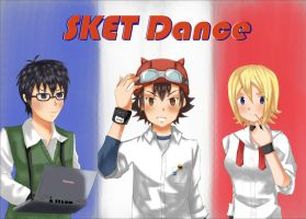 SKET Dance trio by Whitewolfgirl