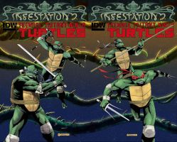 INFESTATION 2 TMNT covers by mytymark