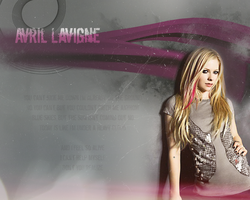 Avril Lavigne Wall I by MartyPunk13
