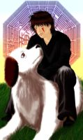 Kiba's Dog by daxyliora