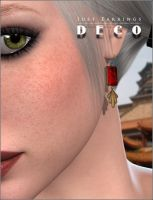 Just Earrings Deco p0 by inception8