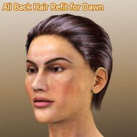 All Back Hair Refit for Dawn by ratorama