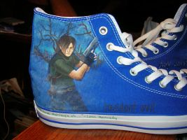 Noah's shoes: Leon Kennedy by MoulinRose