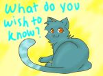 Ask Bluefeather by limegreenleaf