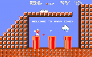 3D Nintendo - Mario Warp Zone by NES--still-the-best