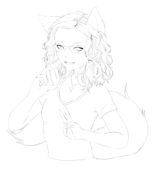 WIP: Mishi by cosmicallycapricious