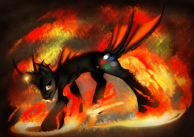 Obsidian .:commission:. by kaiomutaru25