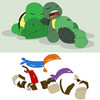 TMNT Base 2~Sleepy Turtles~ by Xbox-DS-Gameboy