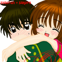 Sakura and Syaoran Forever by MysticTiger