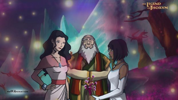 Korrasami Wedding by AvatarThoryn