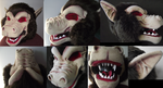Oozaru Mask commission by Toriroz