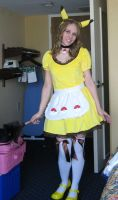 Pikachu Maid at AWA 1 by SailorEarth316