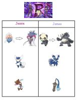 Pokemon X and Y Wishlist - Team Rockets Pokemon by werewolf-dragon