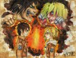 Attack On Titan: Two Sides of the Same Coin by Kagoe