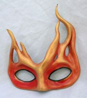 Flame Mask by Silverfaune