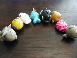 Animal Charms Back Shot 3 by ChibiSayuriEtsy