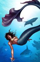 Mermaids2 by PaulRenaud