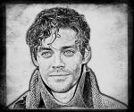 Tom Payne as Rob Cole from 'The Physician' by WilliamFDrake