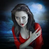 Full Moon by vampirekingdom