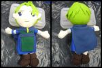 Fire Emblem: Ray Plushie by VesteNotus