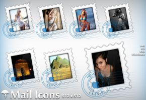 Mail icons by MDGraphs
