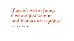 Carrie Fisher - My Life by MShades