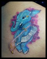 Elefant tattoo by grimmy3d