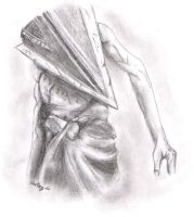 Silent Hill 2-Pyramid Head by Flutterby727