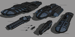 UEF Ship Roster by madfox43