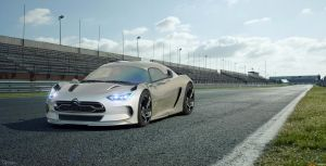 Citroen EVE concept 2 by cipriany