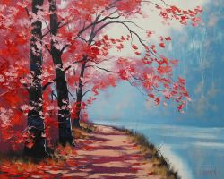 Lakeside Trail by artsaus