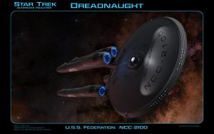 Star Trek AR Dreadnaught by dragonpyper