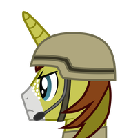 Allen Sparkle head (45 degrees) by DolphinFox