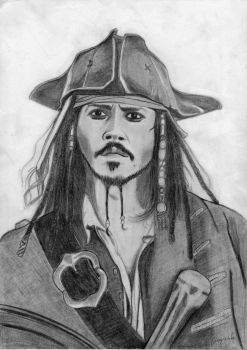 Jack Sparrow - Bring me that Horizon by elodie50a