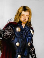 Thor in Color by SladeFaust