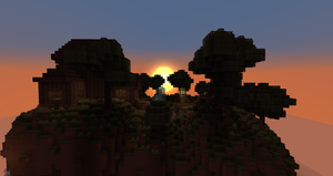 Sunset on the Home by quantumdylan
