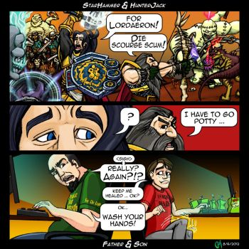World of Warcraft Comic Submission by Gamma-NR