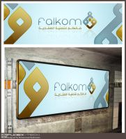 Falkom Banner by fudexdesign
