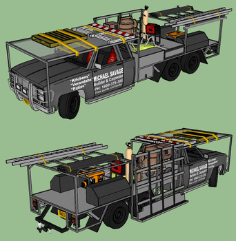 Bi-Axle Tradie's Ute ((updated)) by RustyHauser