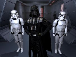 Darth Vader ( the one and only :D ) by CptRex