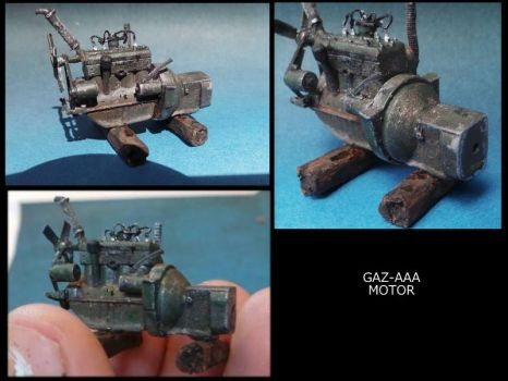 how to paint look like metal by Makingscalemodels