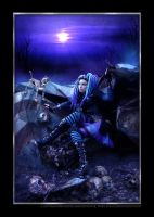 Blue Corrosion 6 by LadyDeathDemon