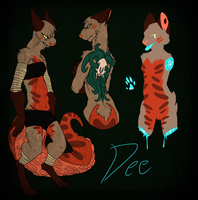 Dee reference 2014 by CremexButter