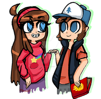 Mystery Twins by OreoMonsterr