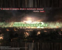 "COD:MW2 ""Infamy Wallpaper"" by CrazyDave55811"