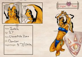 Twitch - Cirque of Fear - Application by Holographic-Neku