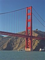The Golden Gate Bridge by the-sashimi-frog